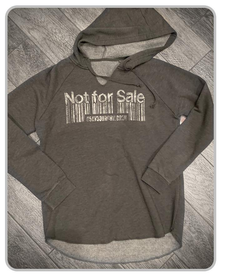 Not For Sale - Womens - Grey - Hoodie