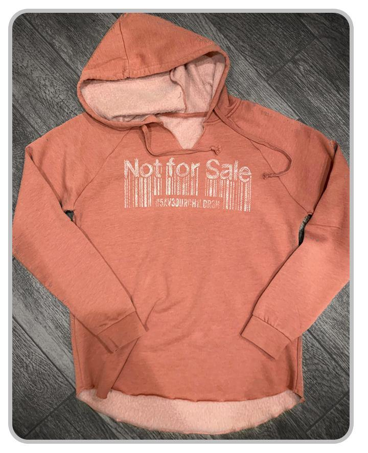 Not For Sale - Womens - Dusty Rose - Hoodie