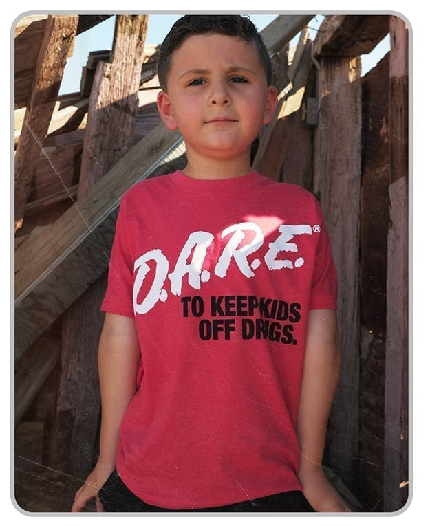 (BOGO) - D.A.R.E. x MatchBack Youth Tee