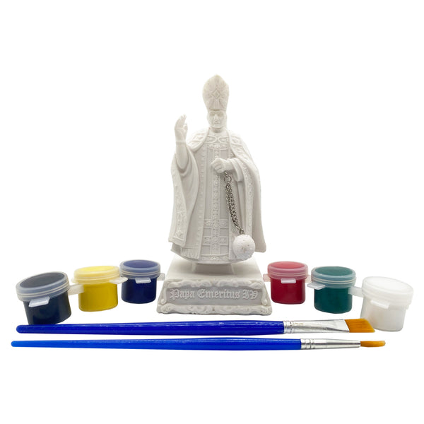 Paint Your Own Papa Statue