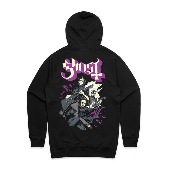 Bats and Band Hoodie