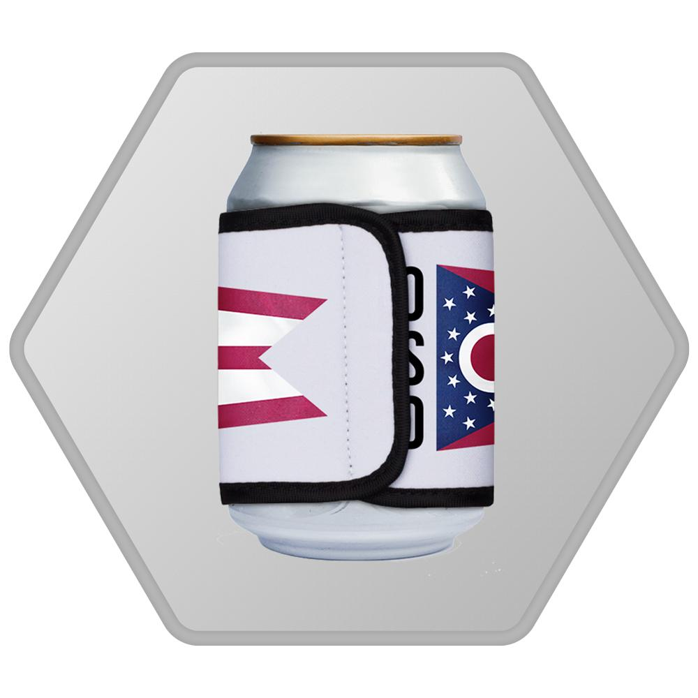 Ohio Stands United Can Cooler