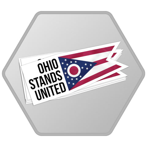 Ohio Stands United Bumper Stickers