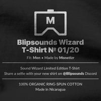 Blipsounds Wizard T-Shirt No. 01/20