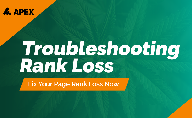 Troubleshooting Google Rank Loss