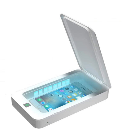 Wireless Charging Multifunction UV Light Sterilizer Box