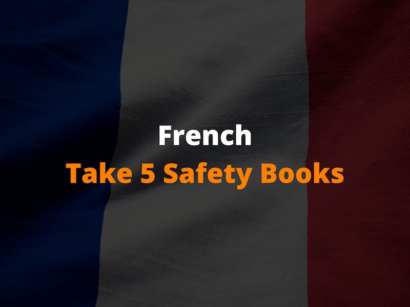 French Take 5 Safety Books