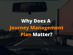Why Does A Journey Management Plan Matter?