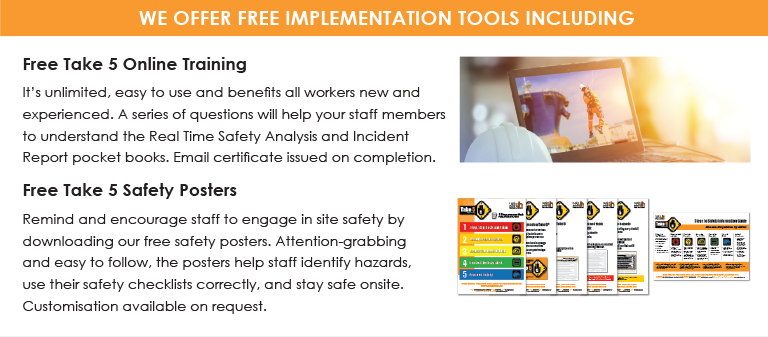 Take 5 Implementation Tools