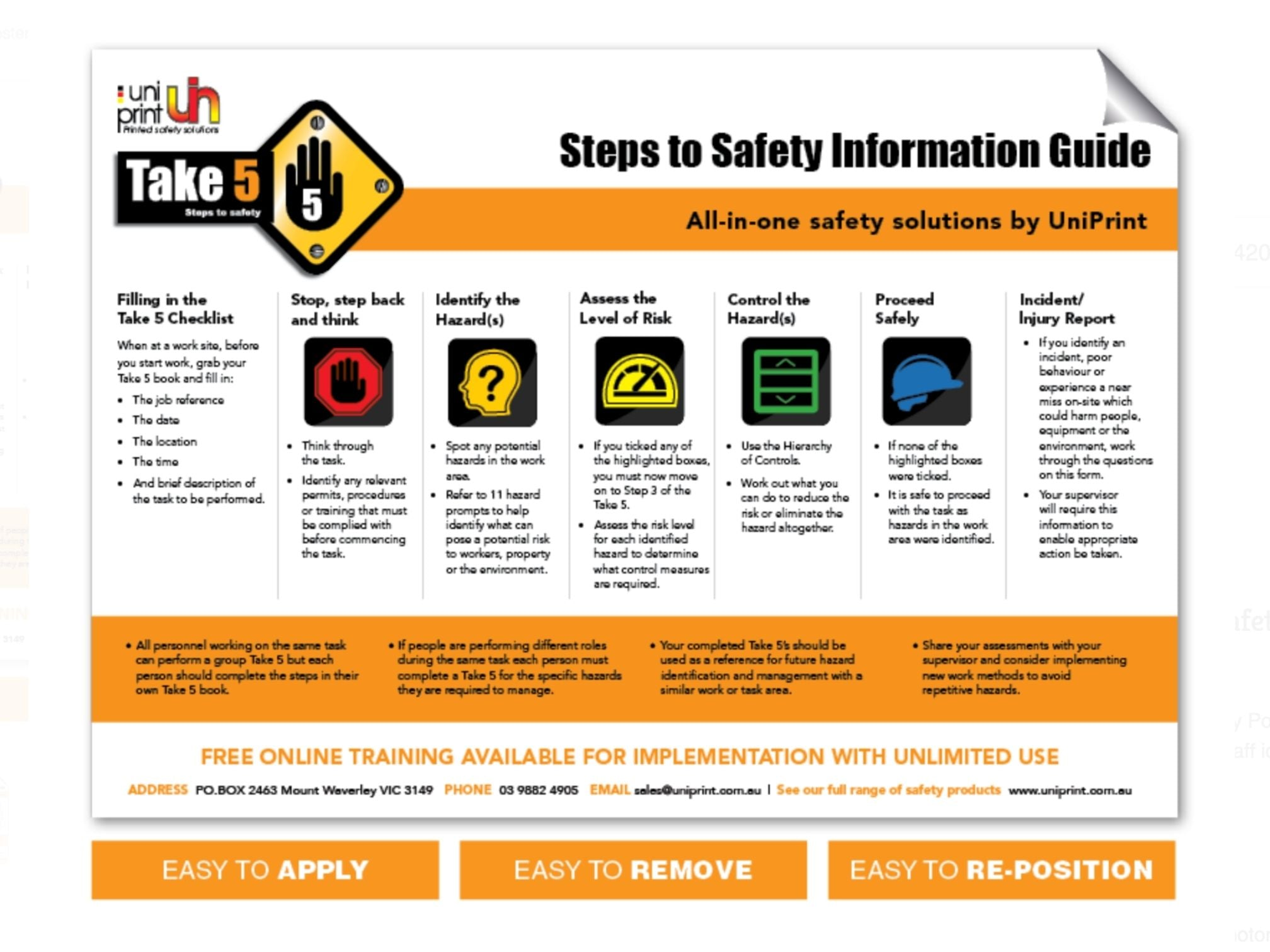 ppe posters, safety poster
