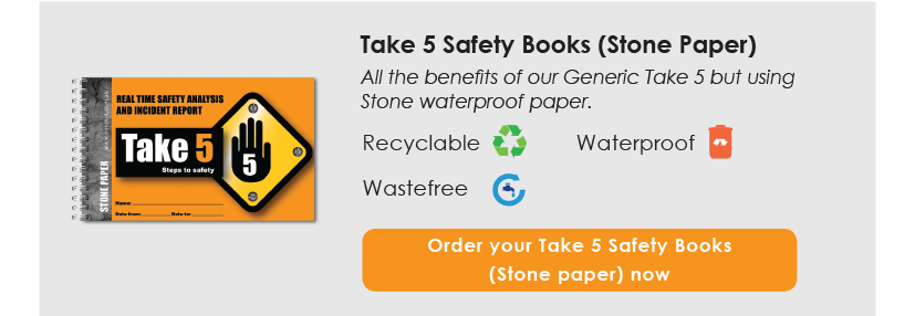 Take 5 Safety Books (Stone Paper)