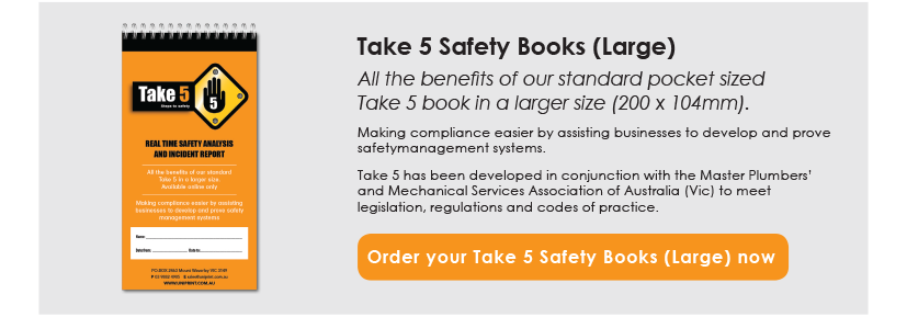 Take 5 Safety Books (Large)
