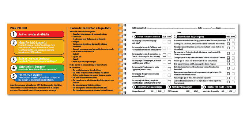 Take 5 Uniprint Safety Books (FRENCH)