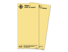 Bonus Product <br> Take 5 Steps to Safety Notepads (Pack of 2 pads)