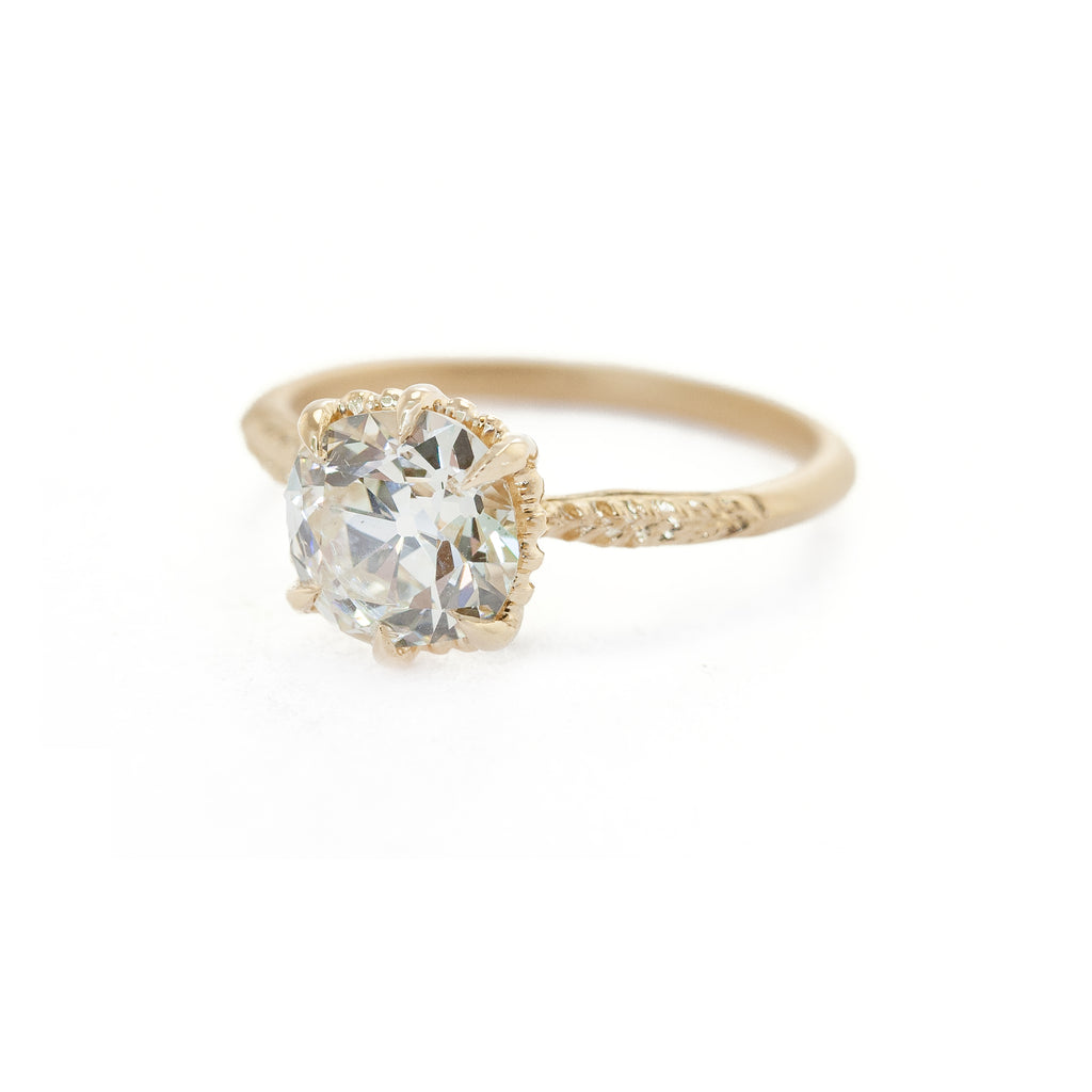Evergreen Solitaire Ring (MT6025)