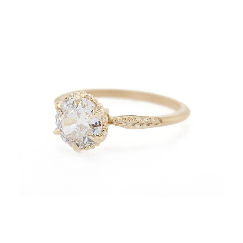 Evergreen Solitaire Ring (MT6210)