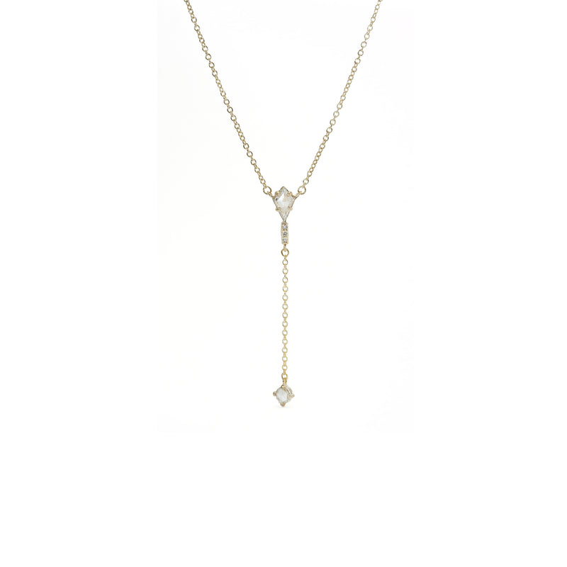 Limited Collection Kaleidoscope Lariat Necklace (LC5548)