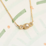 Limited Collection Picot Crescent Necklace (LC6141)