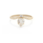 Limited Collection Evergreen Tulip Ring (LC5963)