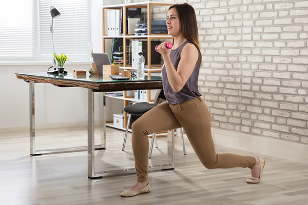 5 Exercises to Stay Healthy at Work