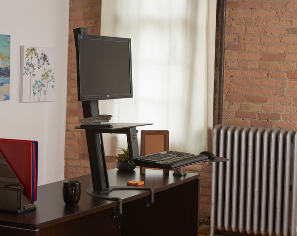 Health Postures 6300 Taskmate GO Sit-Stand Workstation (4523) - Free Shipping