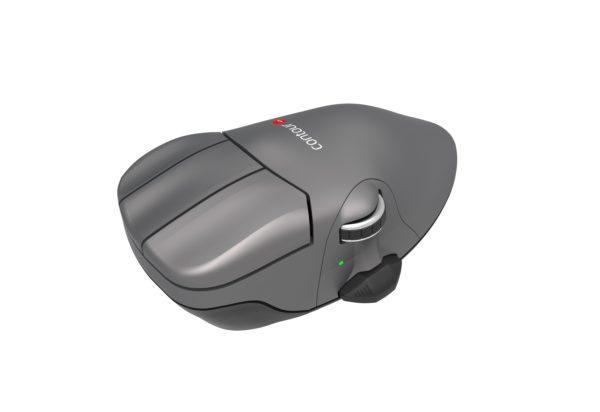 Contour Wireless Mouse Gun Metal (7171) - Free Shipping - ergoKomfort