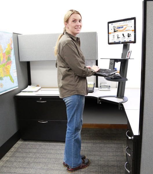 Health Posture Sit-Stand Taskmate GO 6300 Workstation
