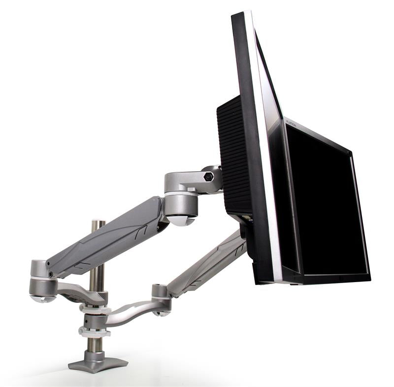 KellyREST Dual Screen Monitor Arm Support (4761) - Free Shipping - ergoKomfort