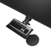 Kelly Standard Keyboard Tray with Mouse Platform Leverless Lift N'Lock (4758)-Free Shipping