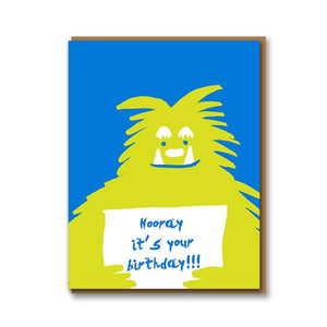 Hooray It's Your Birthday!!! Card