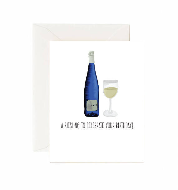 Riesling Birthday Card