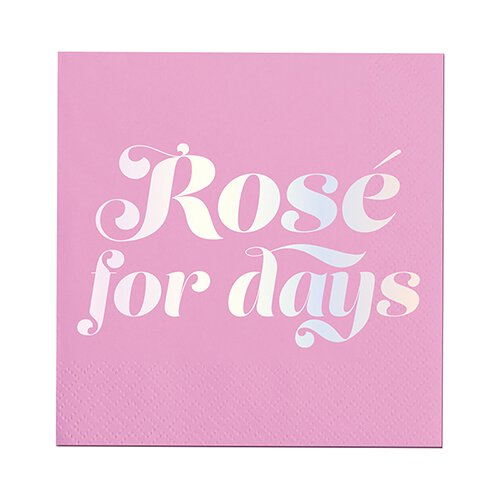 ROSE FOR DAYS NAPKINS