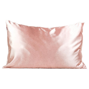 Satin Pillowcase - Micro Dot Blush