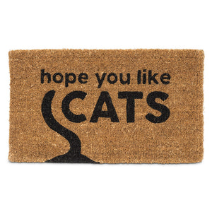 Hope You Like Cats Doormat