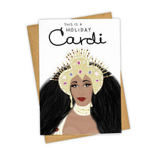 Load image into Gallery viewer, HOLIDAY CARDI CARD