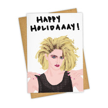 Load image into Gallery viewer, MADONNA HOLIDAAAY CARD