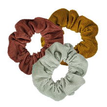 Load image into Gallery viewer, Corduroy Scrunchie Set