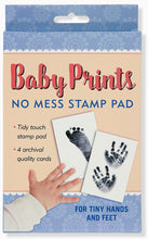 Load image into Gallery viewer, BABY PRINTS NO MESS STAMP PAD
