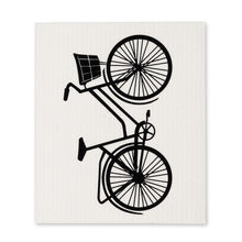 Load image into Gallery viewer, Bicycle Dishcloths. Set of 2