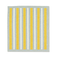 Load image into Gallery viewer, Daisies & Stripes Dishcloths. Set of 2