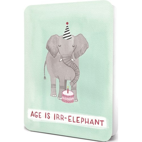AGE IS IRR-ELEPHANT