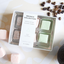 Load image into Gallery viewer, EXFOLIATING SUGAR CUBES - BRUNCH COLLECTION GIFT BOX