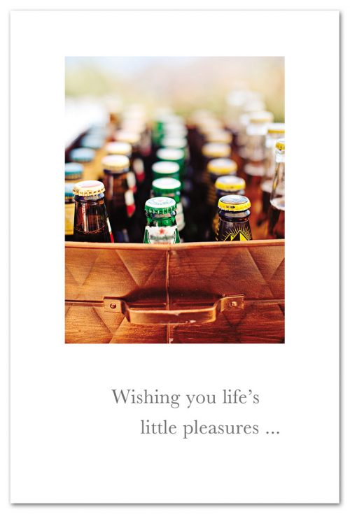 Wishing You Life's Little Pleasures Card