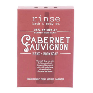 MINI CABERNET SAUVIGNON SOAP - Rinse Bath & Body Co