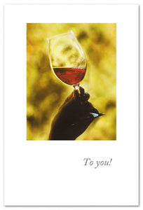 To You! Wine Tasting Card