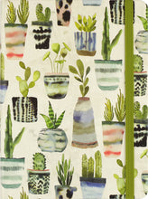 Load image into Gallery viewer, WATERCOLOR SUCCULENTS JOURNAL