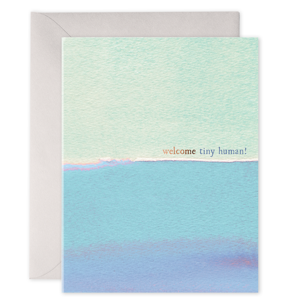 WELCOME TINY HUMAN! CARD