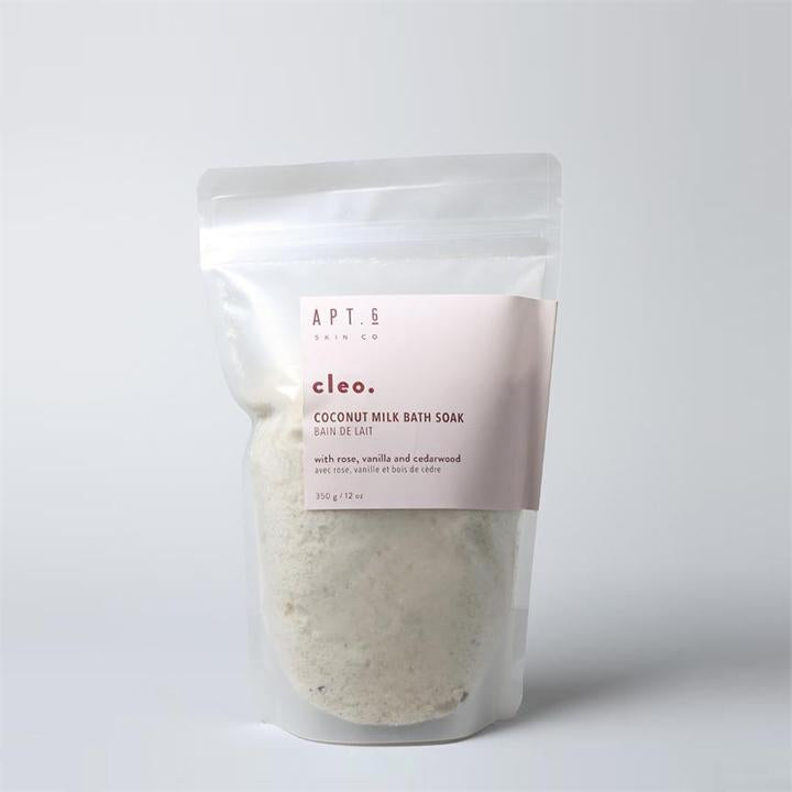 Apt. 6 Skin Co. CLEO - COCONUT MILK BATH SOAK