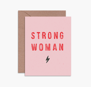 STRONG WOMAN CARD