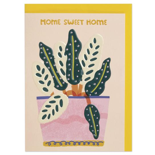 Home Sweet Home Plant Card